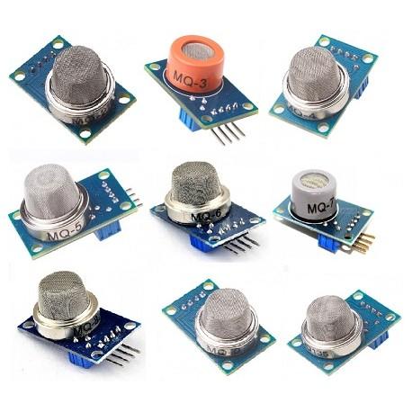 超值MQ系列氣體感測器套件包 九件套