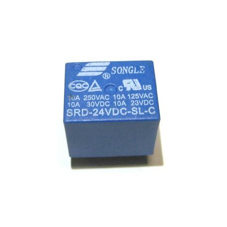 T73 24V 繼電器 10A 5脚 ( SRD-24VDC-SL-C)