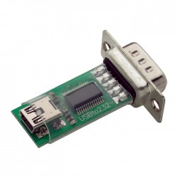 USB to Serial(RS232)串列介面轉換