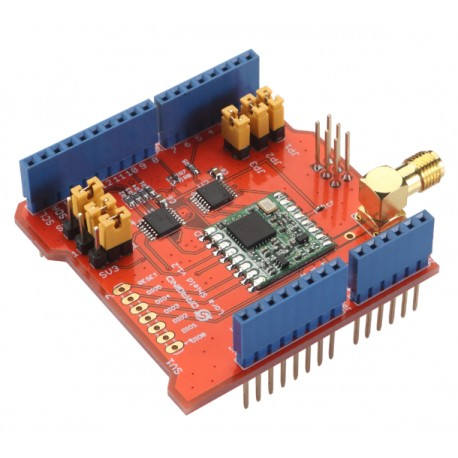 Dragino LoRa Shield Arduino 無線通訊擴展板 433 MHZ