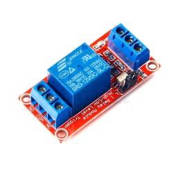 1路12V繼電器模組(支援高低電平觸發)