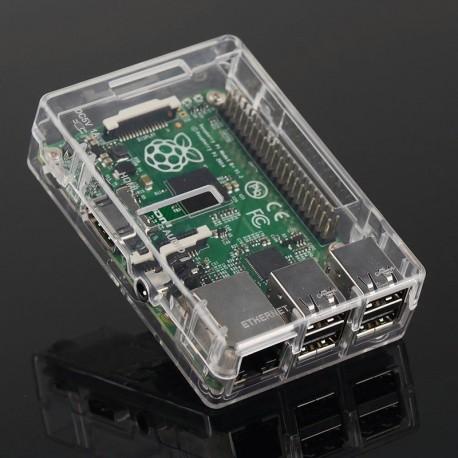 Raspberry Pi 2B 壓克力外殼 (W)