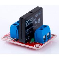 單路固態繼電器(紅色)(相容Arduino)
