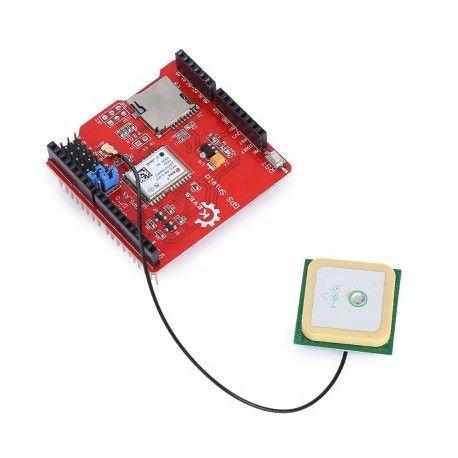 Arduino GPS shield GPS記錄 擴展板 NEO-6 GPS