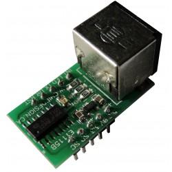 美國原廠 E1115 PS/2 接口 to TTL 介面轉換器