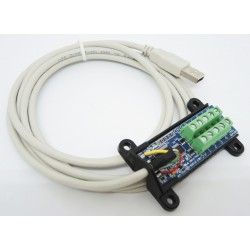 DLP-IO8 USB介面 I/O 模組 (庫存數:7)