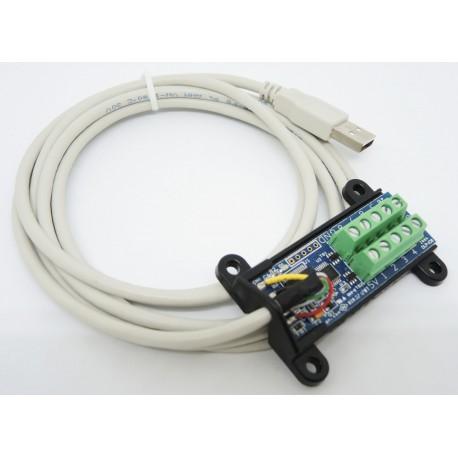 DLP-IO8 USB介面I/O模組