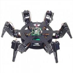 六足18動昆蟲機器人-BH3RCAU-BLK(全配)(BotBoarduino - 645MG)