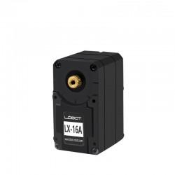 LX-16A智慧串口雙軸數位伺服器伺服器(機器人大扭力高精度)