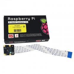 Raspberry Pi NoIR Camera V2 紅外線攝像模組(RS/E14 隨機出貨)