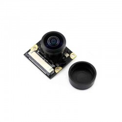 Raspberry Pi 4B / 3B+全景廣角魚眼攝影模組(5MP 500萬 222度)