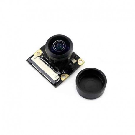Raspberry Pi 3B+全景廣角魚眼攝影模組(5MP 500萬 222度)
