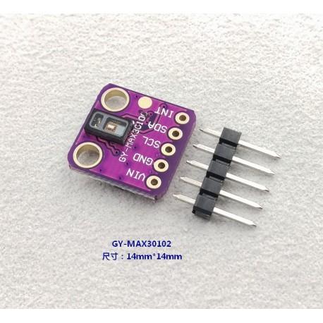 MAX30102心率 脈搏 血氧濃度 感測器模組