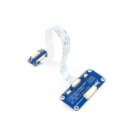 ePaper墨水屏驅動板SPI介面 (支援Pi 3代B/Zero W/Arduino)