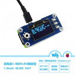 樹莓派Pi 3 B+ Zero WH 1.3吋OLED模組