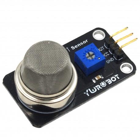 Arduino電子積木 MQ-2可燃氣體感測器(黑板)