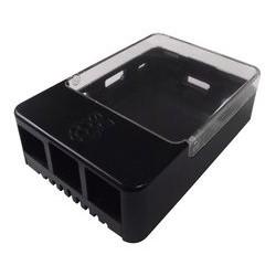 Raspberry Pi Sense HAT 擴充板外殼  (黑色透明蓋)