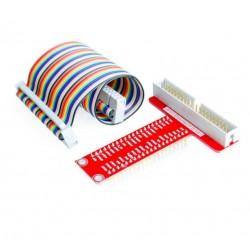 彩虹排線40P+ T型GPIO轉接板