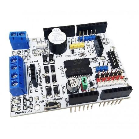 PlayRobot L298P 馬達驅動擴充板