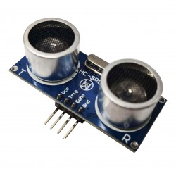 HC-SR04超聲波測距模組(支援3.3V 5V/51單片機MCU控制)