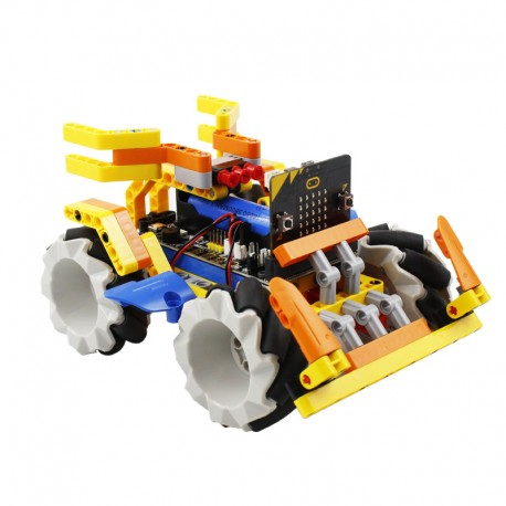 Micro:bit全向輪智慧小車
