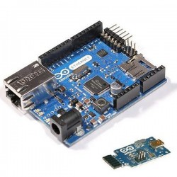 Arduino ETH W/O POE+PoE+USB 2 Serial Converter 套件組(庫存:5)