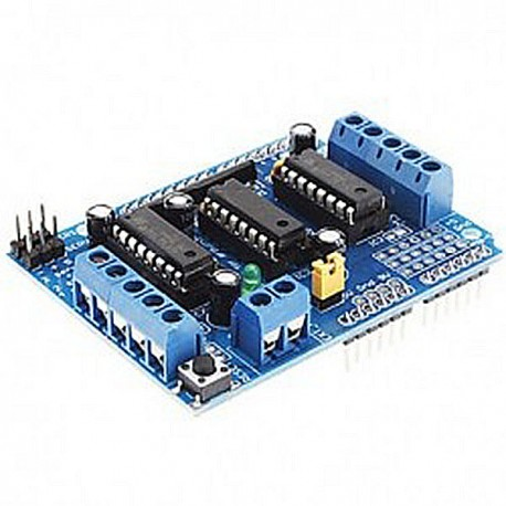 Arduino L293D 馬達驅動擴展板