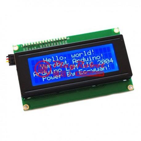Arduino IIC/I2C 2004 藍屏液晶模組