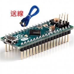 Arduino Micro控制板 (送線)(正宗義大利原廠台灣總代理_品質保證)(庫存:8)