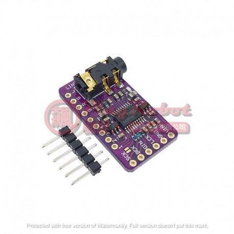 樹莓派Pi 優質無損數位音訊DAC解碼板