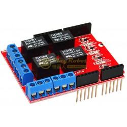 相容 Arduino 4路繼電器模組