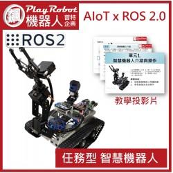 AIoT x ROS 2.0  任務型 智慧機器人