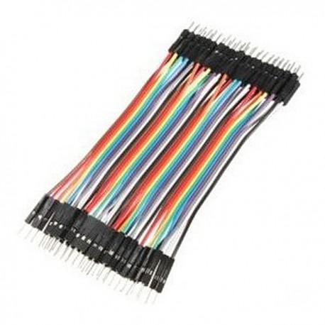 CGGs_Arduino杜邦線公對公 40P 20cm