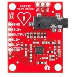 AD8232 心跳監測器感測器模組 (脈搏/心臟/心電圖/ECG)