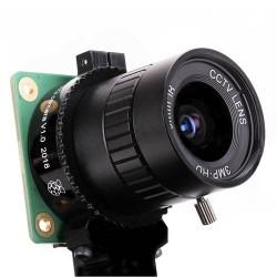 Raspberry Pi IMX477 6mm 廣角鏡頭套件