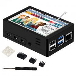 Raspberry Pi 4B 3.5吋觸控螢幕套件(不含Raspberry Pi) 升級版