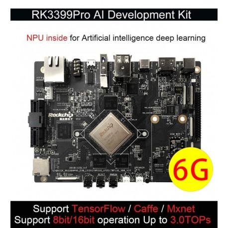 RK3399Pro AI 開發板(6G+32GB eMMC Base)