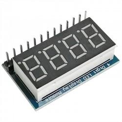 4位 數碼管模組 四位並行 9012驅動 (庫存:5)