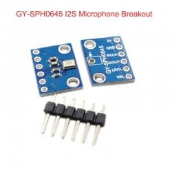 GY-SPH0645LM4H I2S介面MEMS數位聲音感測器