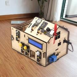 DIY智慧小木屋(應用於Arduino)
