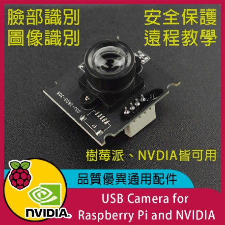 USB Camera for Raspberry Pi and NVIDIA